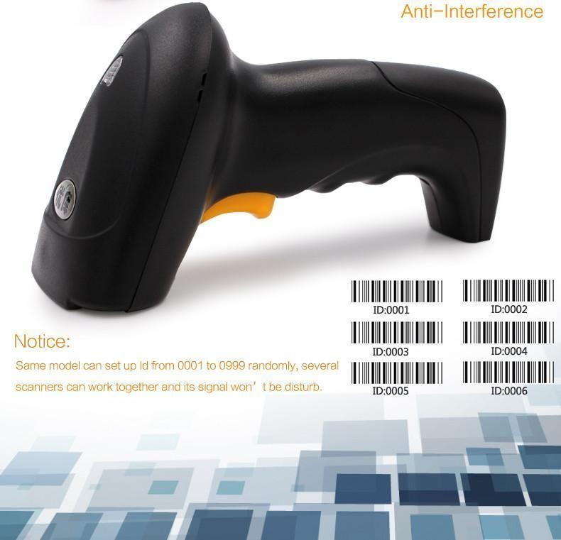 TUZECH 1D USB Wired Laser Handheld Barcode Scanner