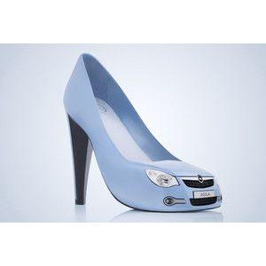 Opel Agila High Heel Shoes cute and fun