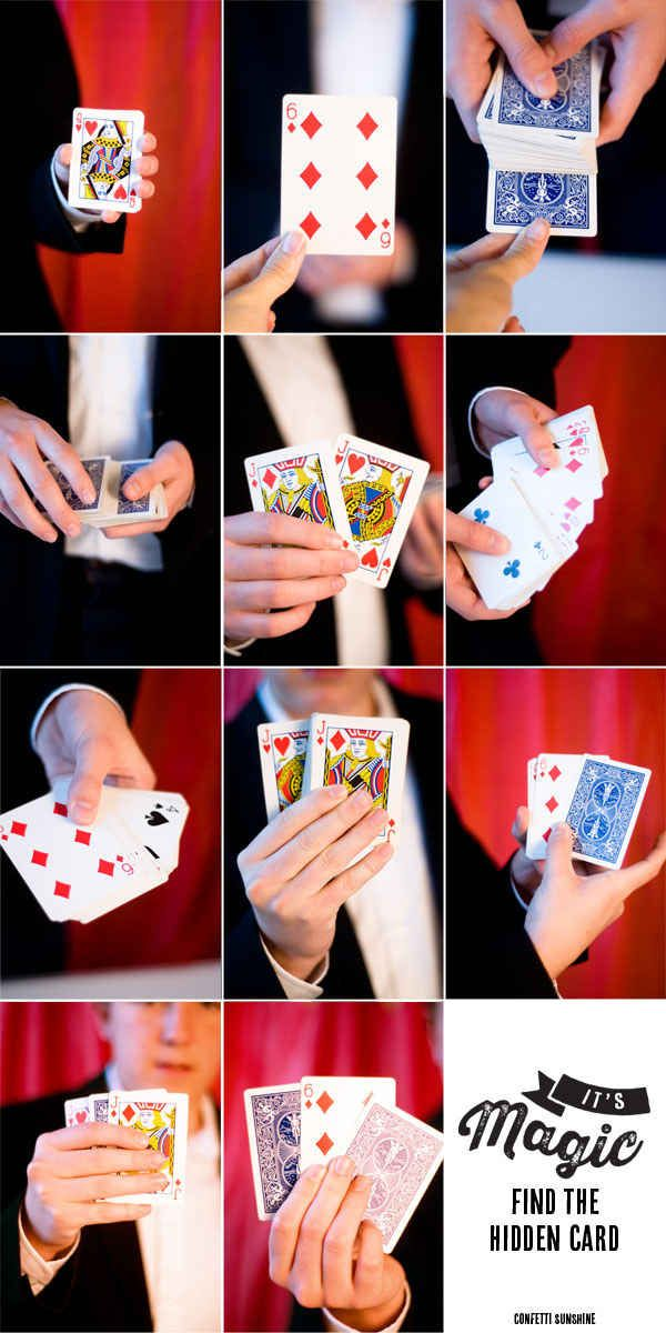 15 Easy Magic Tricks That Will Blow Your Kids Minds Easy Card