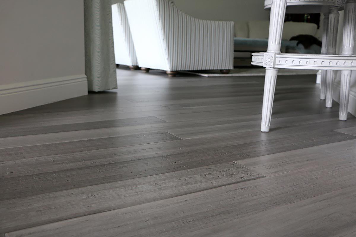 Ashwood Distressed Engineered Click Lock Woven Bamboo Floor Wood Floors Wide Plank Flooring Bamboo Flooring
