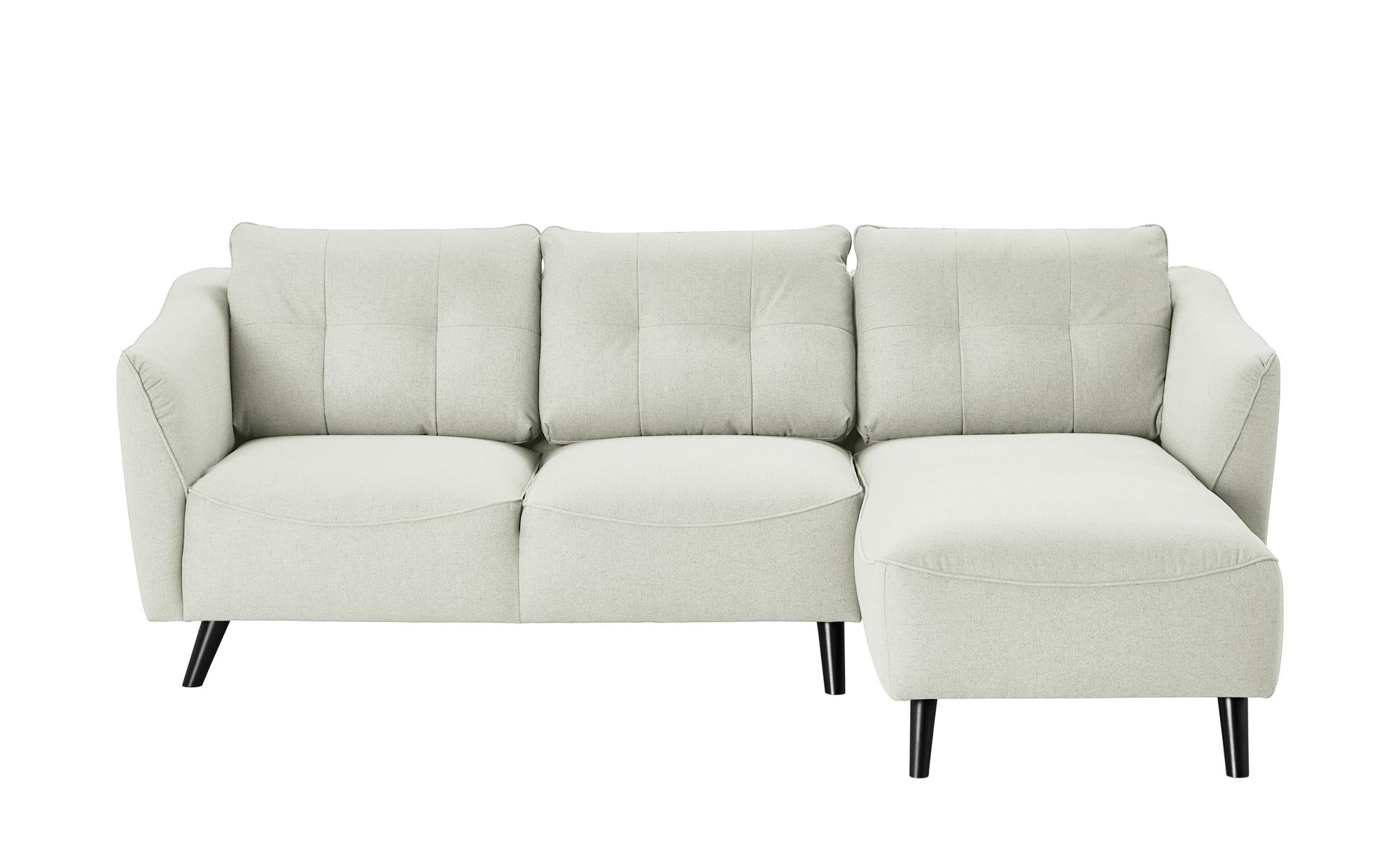 Smart Ecksofa Weiss Flachgewebe Vera Ecksofa Sofa Design Und Big Sofa Kaufen