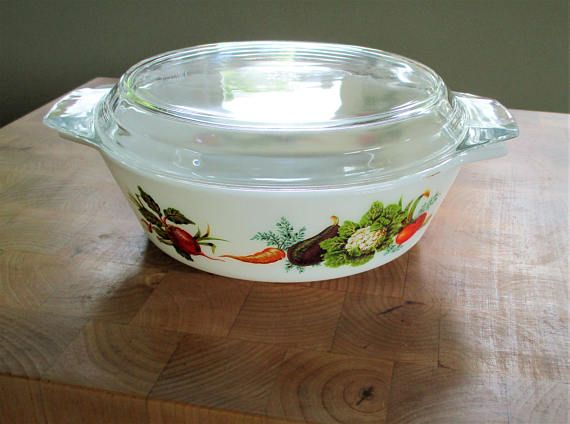 Stars fuck vintage pyrex casserole dish fat pussy nude