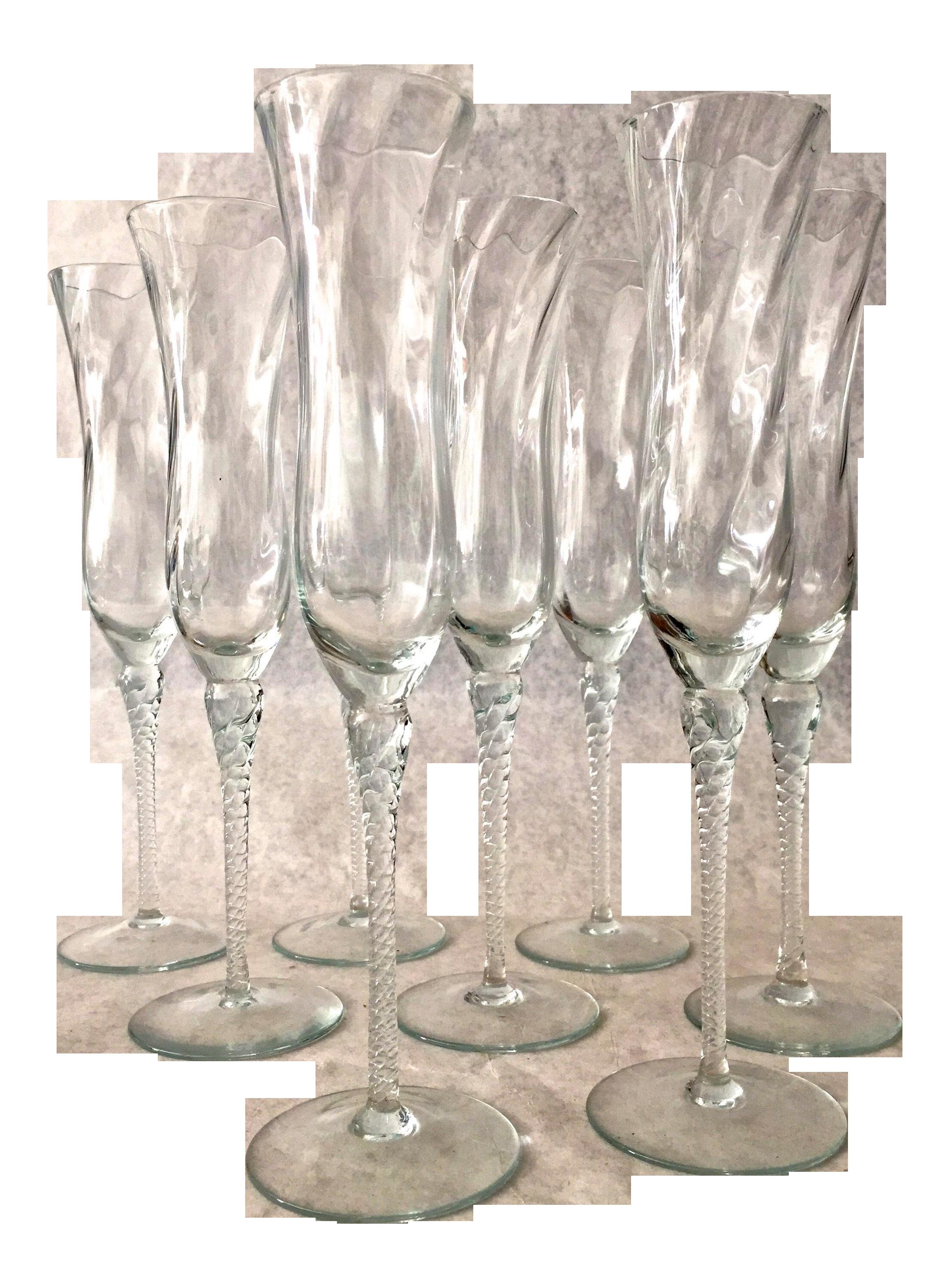 Modern Crystal Champagne Flutes Set Of 6 Crystal Champagne Flutes Champagne Flute Set Crystal Champagne