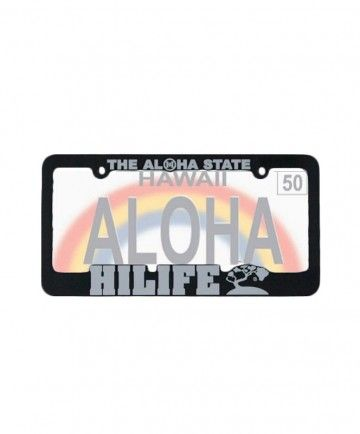 Hilife License Plate Frame Aloha And Roots 8 00 Available