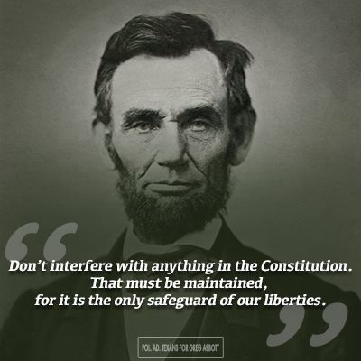Abraham Lincoln & The Constitution