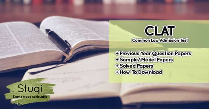 Clat Previous Year Papers Ug Pg Sample Question Paper Question Paper Previous Year Question Paper Sample Question Paper