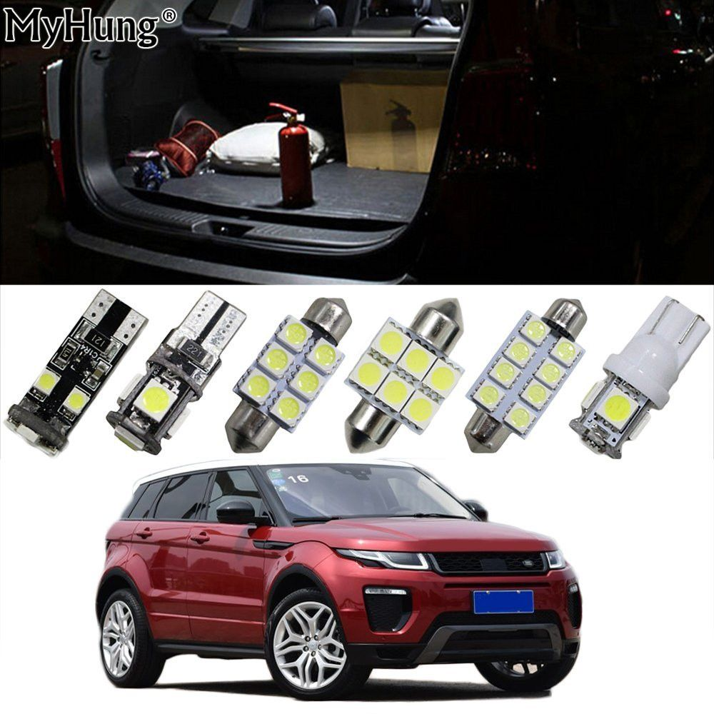 For Land Rover Freelander Evoque Car Led Headlight Bulbs Replacement Bulb Dome Map Lamp Light Bri Interior Led Lights Car Led Lights Headlight Bulb Replacement