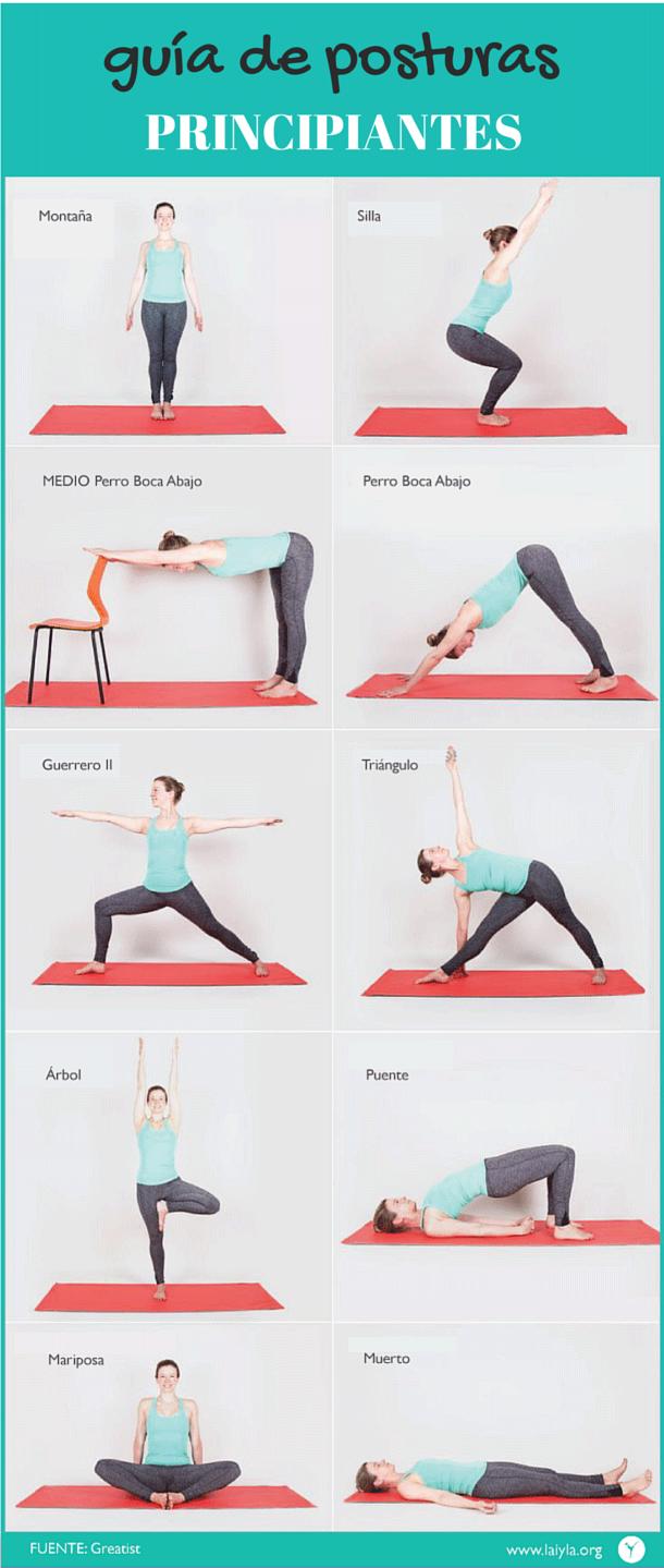 Guia De Posturas Infograficos Posturas De Yoga Para Principiantes Yoga Principiantes Rutina Para Principiantes