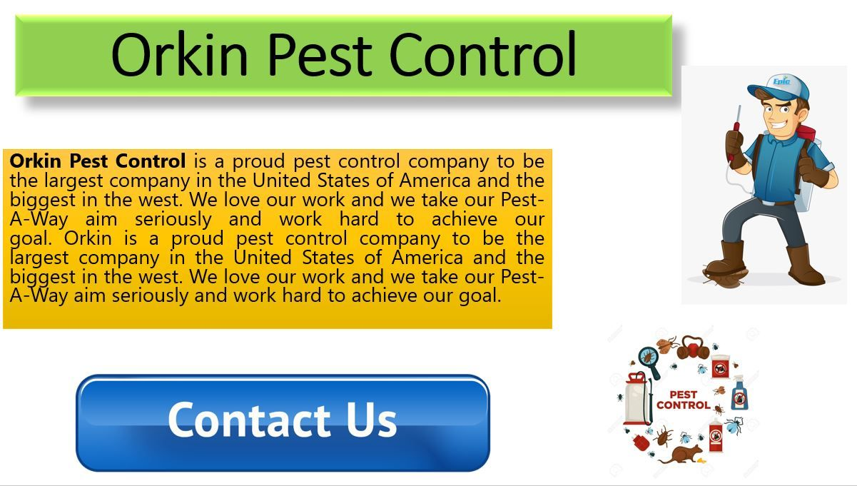Orkin Pest Control Orkin Pest Control Pest Control Orkin