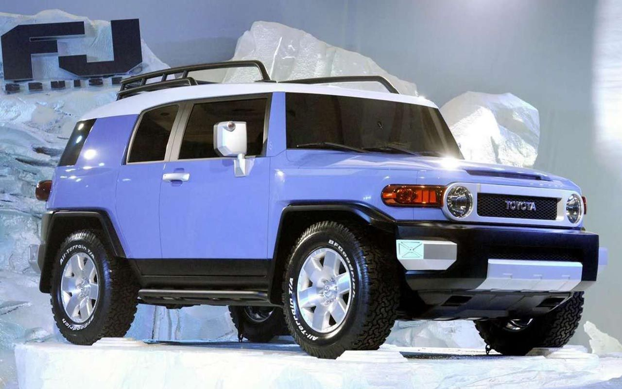 Wallpaper of toyota fj cruiser 2007 for fans of toyota 327912
