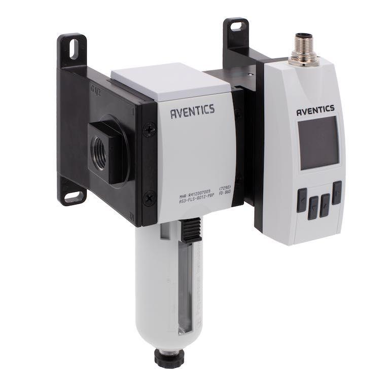 Iiotenabled flow sensor monitors air loss in pneumatic