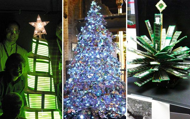 Non Traditional Christmas Tree.40 Ideas For A Non Traditional Christmas Tree Geek Stuff