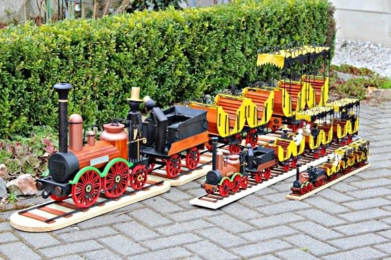 Damasu Info Blog 175 Jahre Deutsche Ferneisenbahn 175 Jahre Saxon Eisenbahn Holzkunst Bau