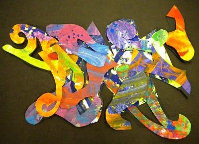 Frank Stella 3D Collage