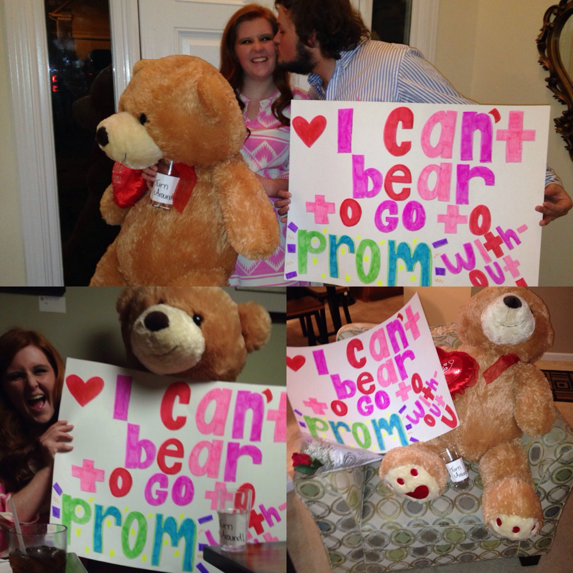 bear prom proposal prom pinterest proposals prom and bears