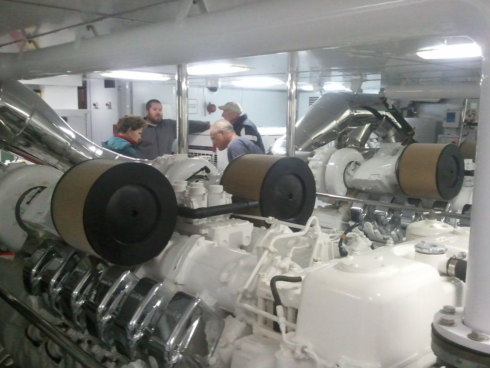 cruise ship engine room tour Google Search