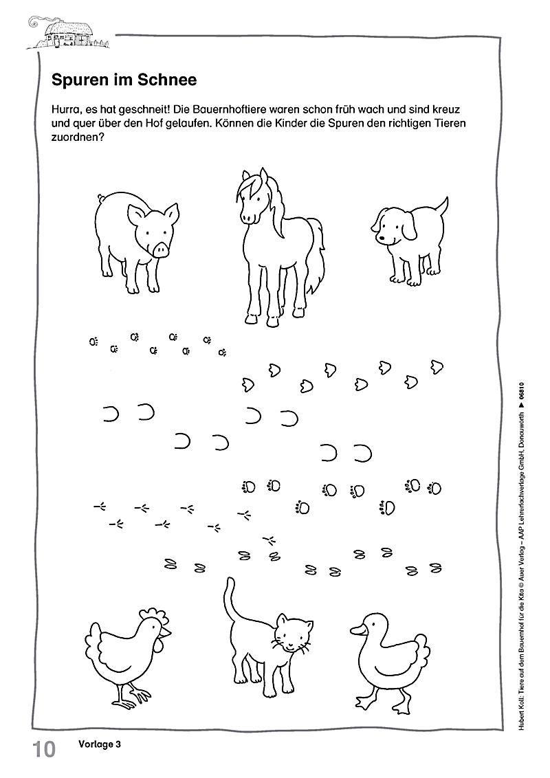 Tiere Auf Dem Bauernhof Für Die Kita Produktdetailbild 3 ...
