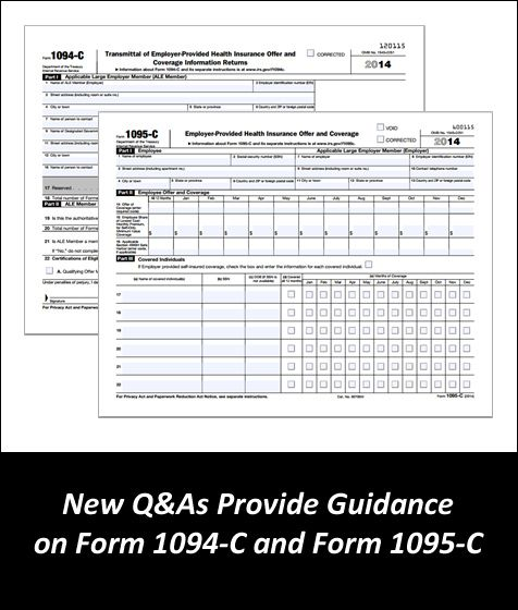 New Irs Q As On Aca Reporting By Large Employers Guidance