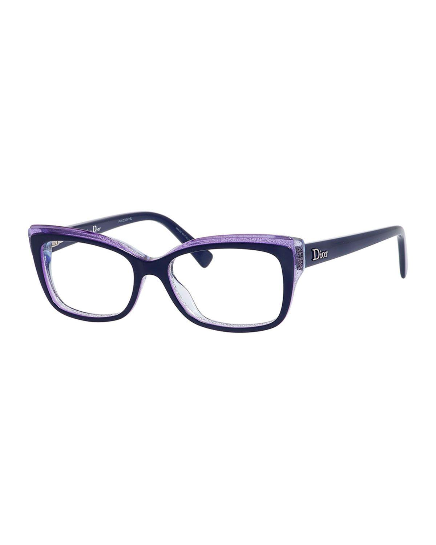 fc009e7c7480 Glitter-Edge Fashion Glasses