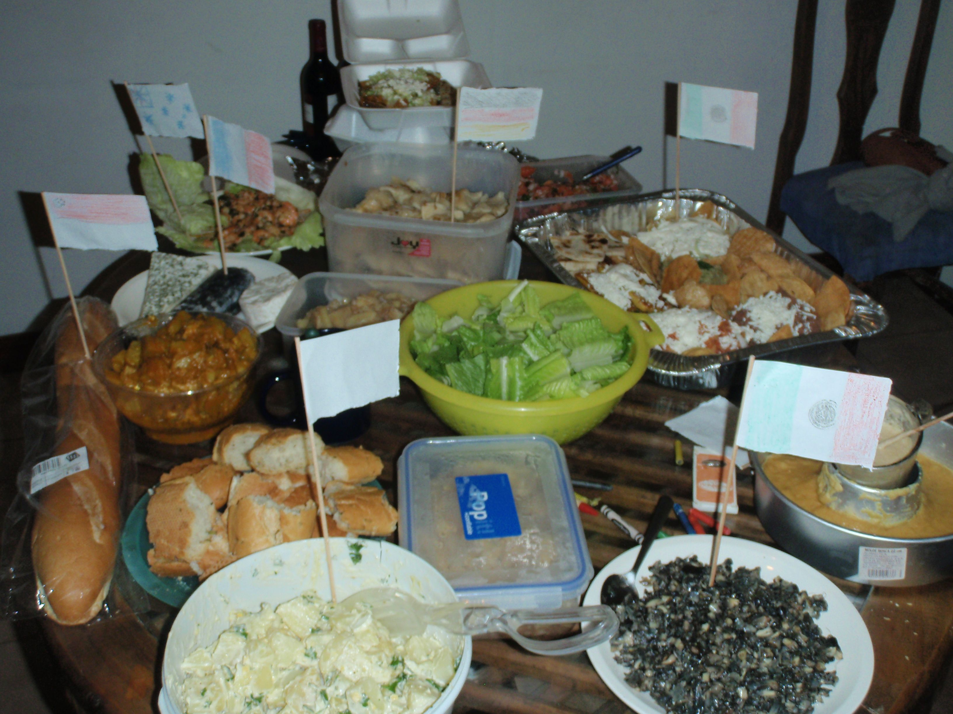 Amazing International Food Ideas For Party