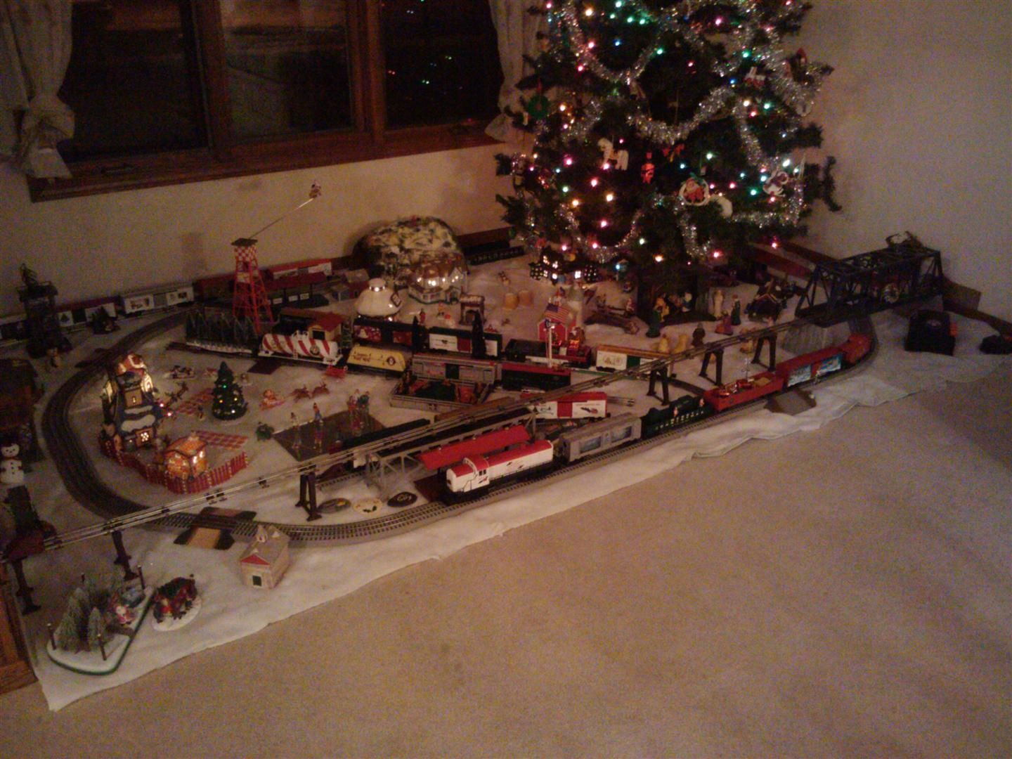 Christmas ground layout idea | Holiday train, Model trains