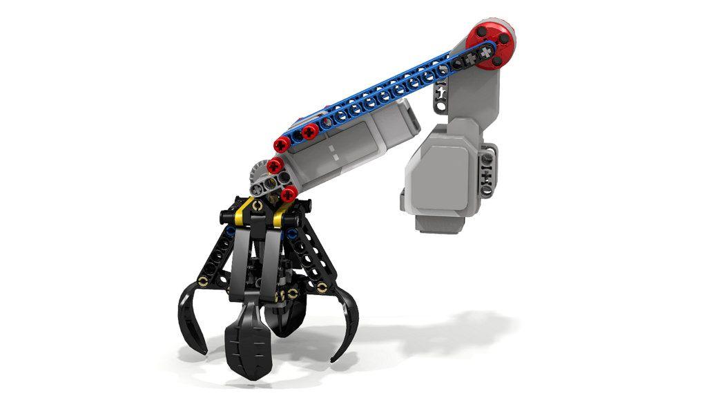 Lego 42006 Excavator Claw with EV3 Motors | Robotics | Lego