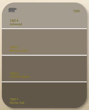Behr Ashwood Mocha Accent 720d Today We Paint Our