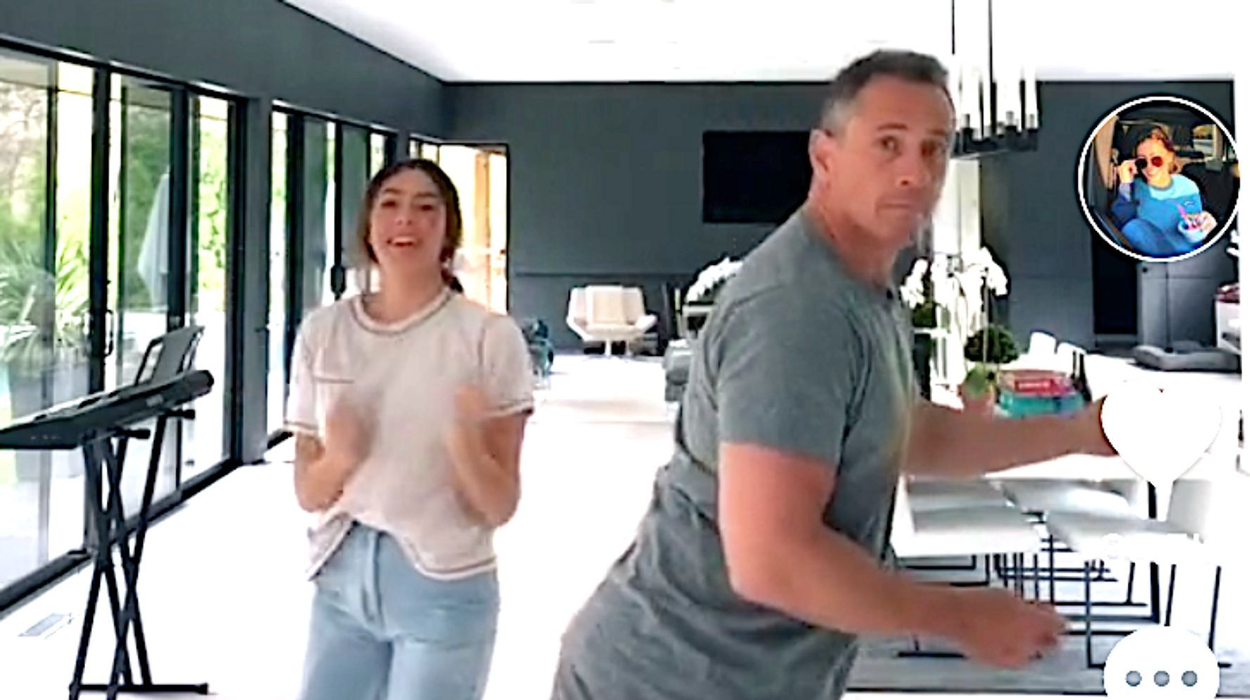 Blog Chris Cuomo Busts Some Dad Moves In Tiktok Dance Video With Daughter Huffpost In 2020 Chris Cuomo Dance Videos Chris