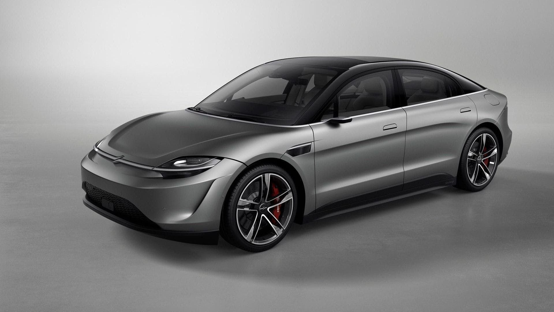 No Sony Won T Be Building And Selling Its Electric Car The Drive Electric Car Concept Concept Cars Future Car