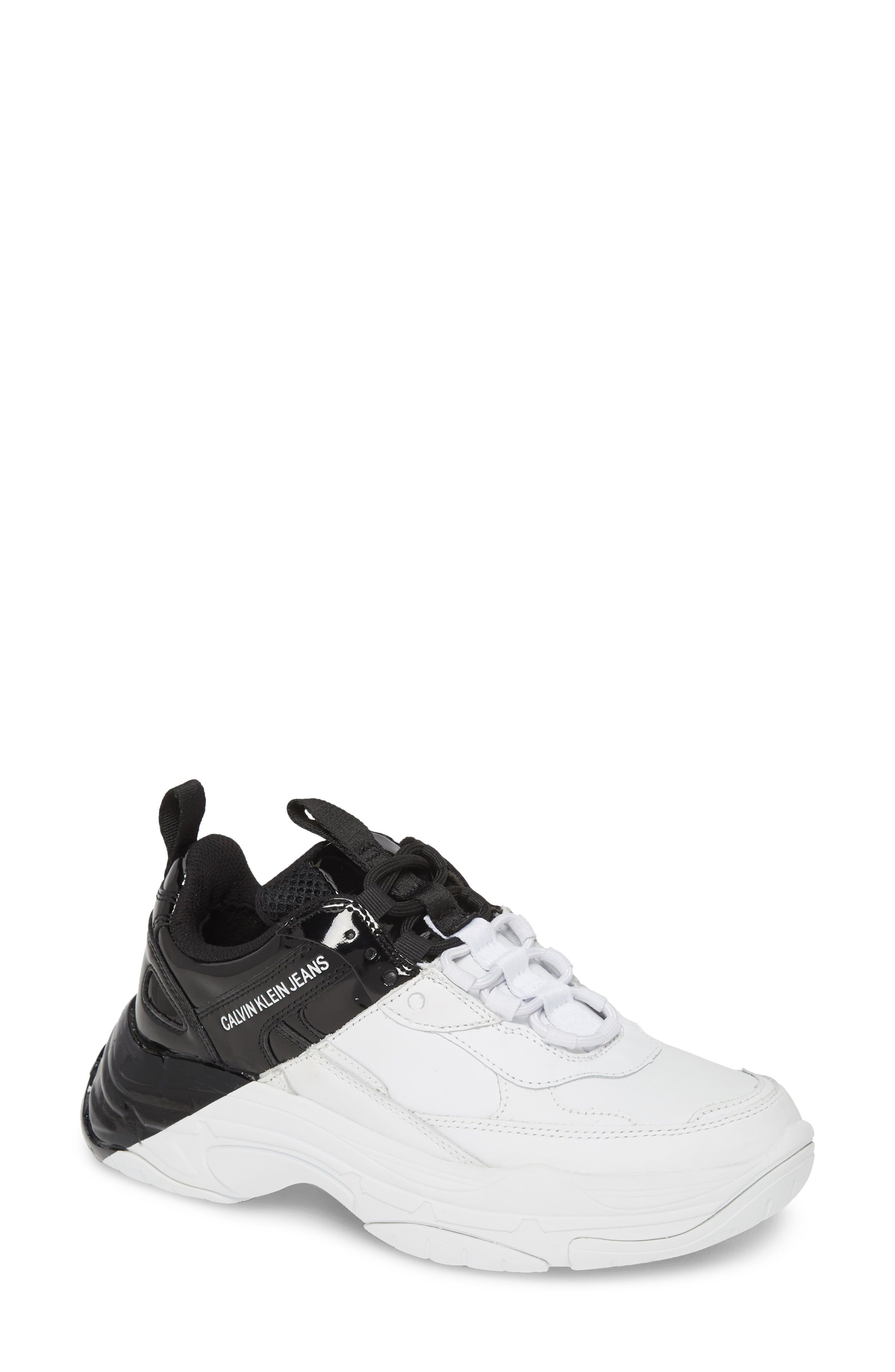 Calvin Klein Marvin Chunky Sneakers In White White Sneakers Outfit White Sneakers Men White Sneakers