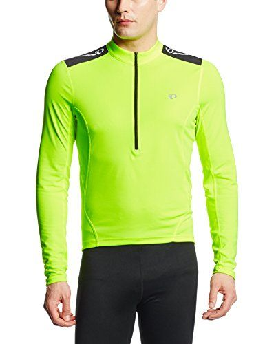 Pearl Izumi Mens Select Quest Long Sleeve Jersey Screaming Yellow Medium      Visit the c8cdb54af