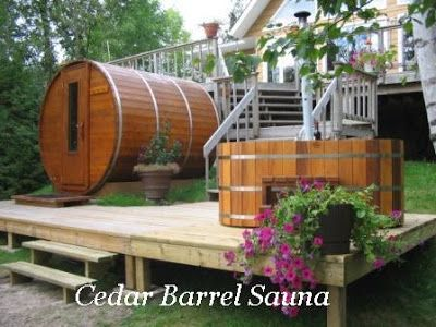 Cedar Barrel Sauna   Cedar Saunas, DIY Sauna Kits, Indoor U0026 Outdoor Saunas: