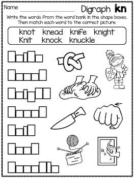 DIG INTO DIGRAPHS SERIES ~ -CK - **FREE SAMPLE IN PREVIEW ...