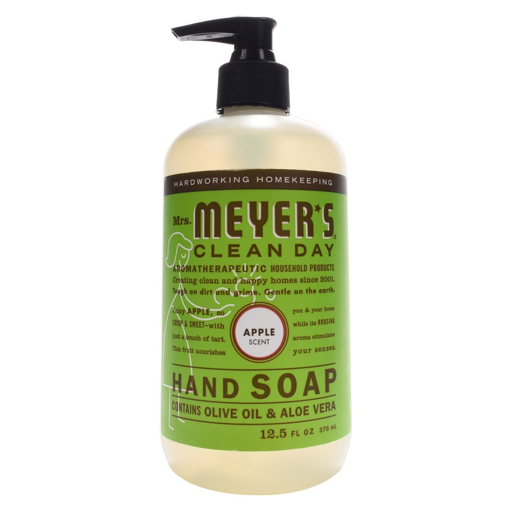 Mrs Meyer S Apple Scent Liquid Hand Soap 12 5 Fl Oz Target