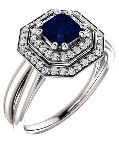 sapphires grown cut blue lab by kashmir custom sapphire culturedgems asscher