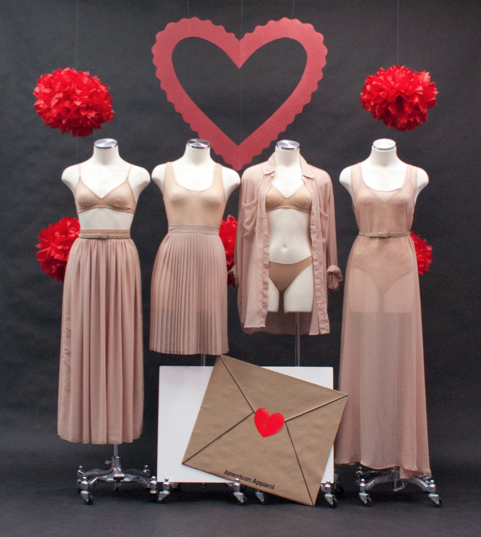 Valentine 39 s day lingerie display inspiration by for Dekoration und display