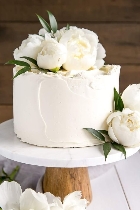 Take inspiration from Harry and Meghans wedding Cake with a Lemon Elderflower Cake.