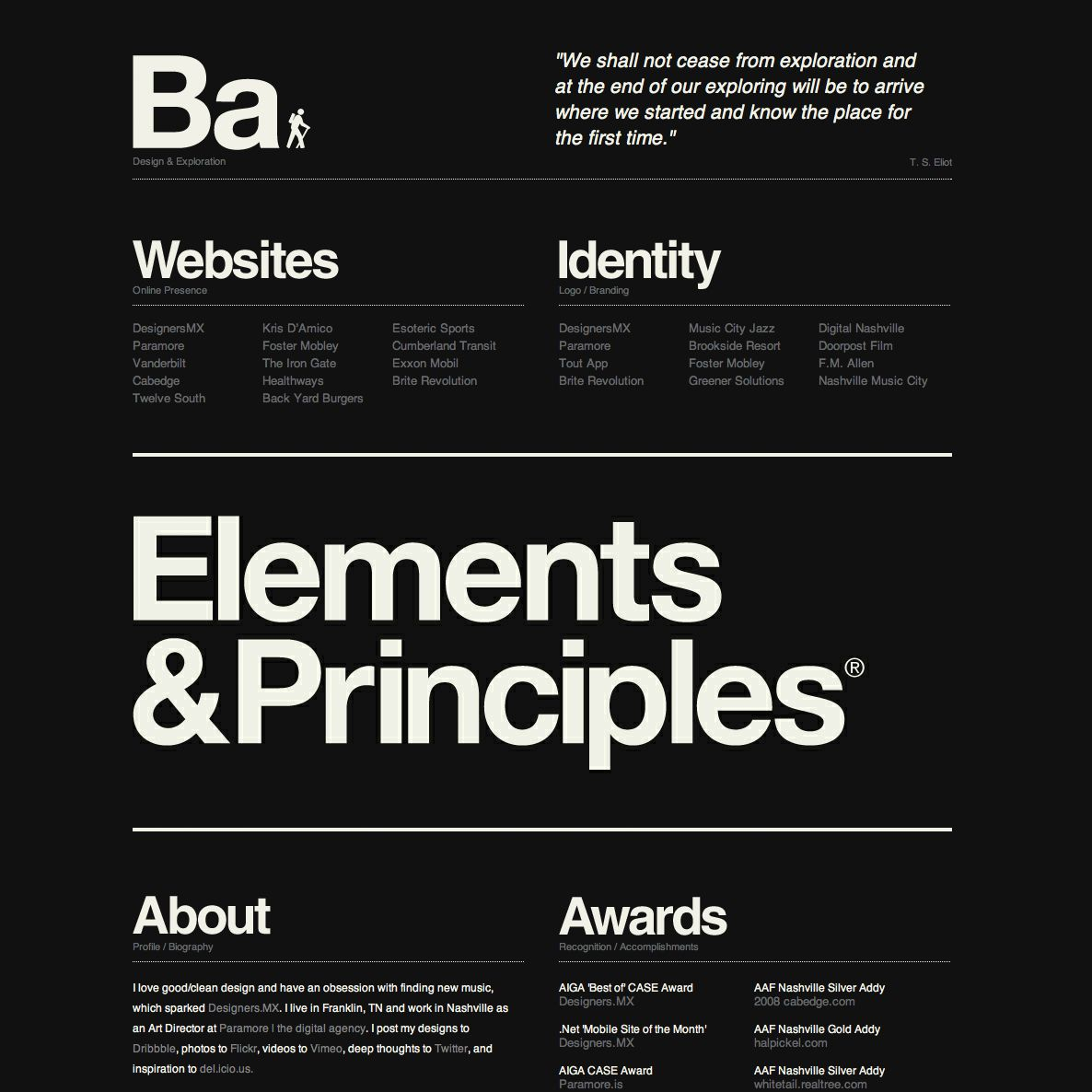 No Imagery Good Typography Layout Bold Typography B Clear Communication Minimal Web Design Minimalist Web Design Web Layout Design