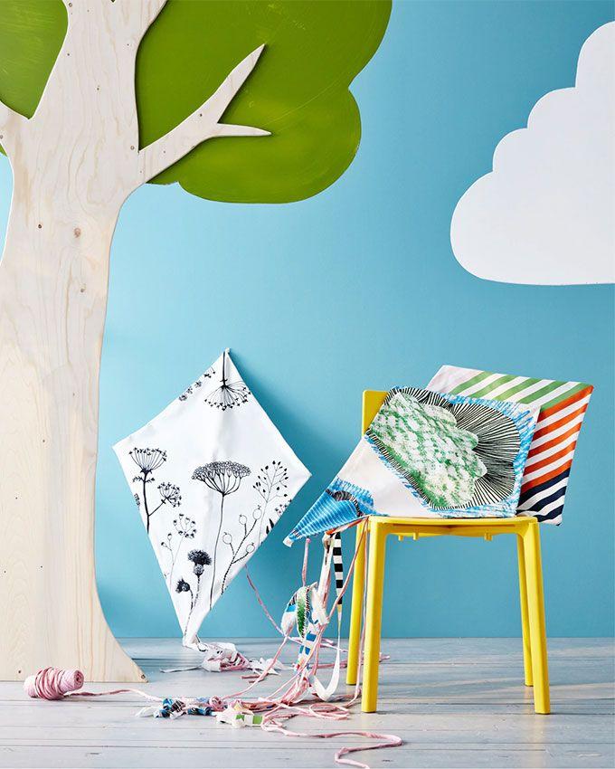 Tuto Ikea : fabriquer un cerf volant | Cerf volant, Cerf et Pour ...