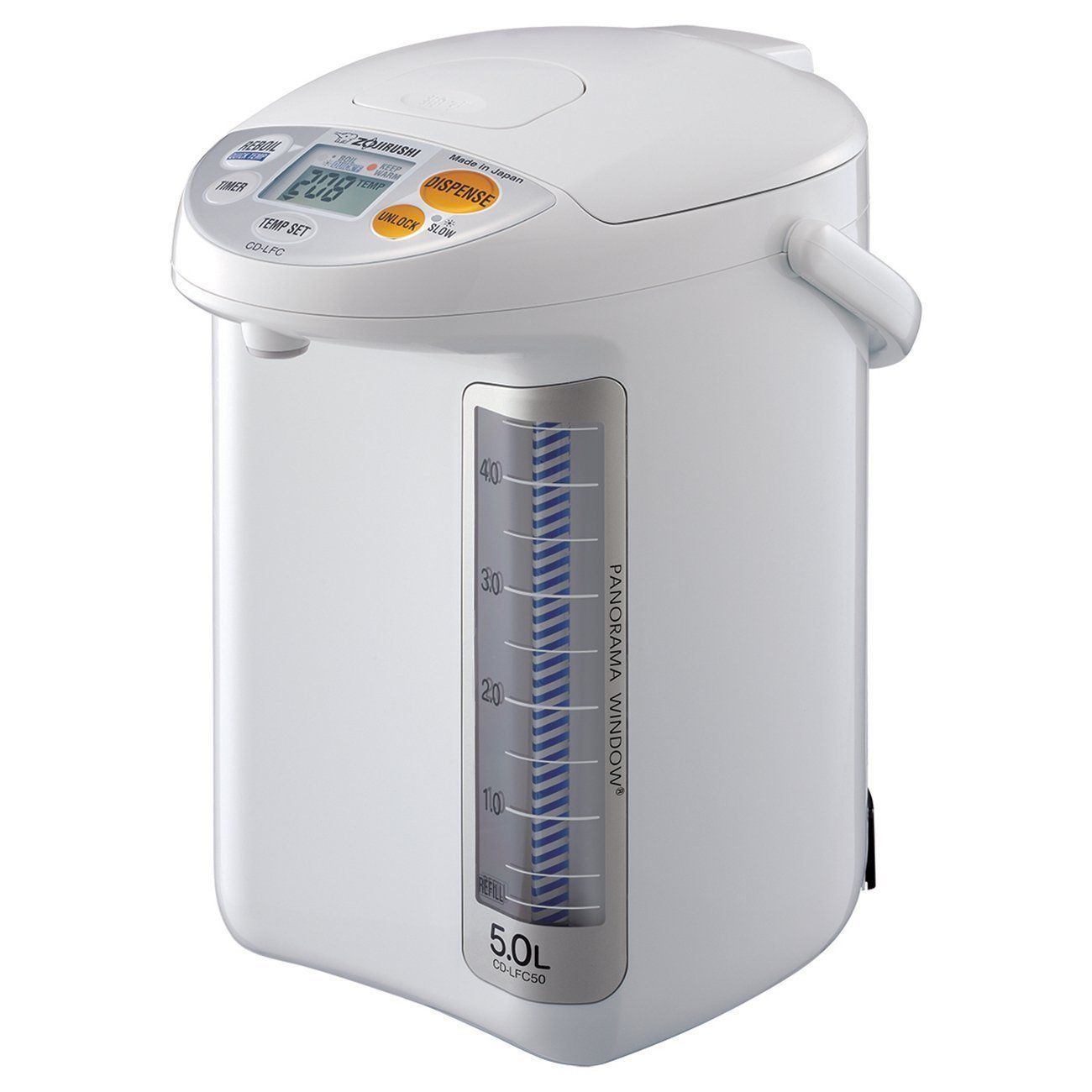 Zojirushi CD-LFC50WA 5L Panorama Window Micom Water Boiler and Warmer