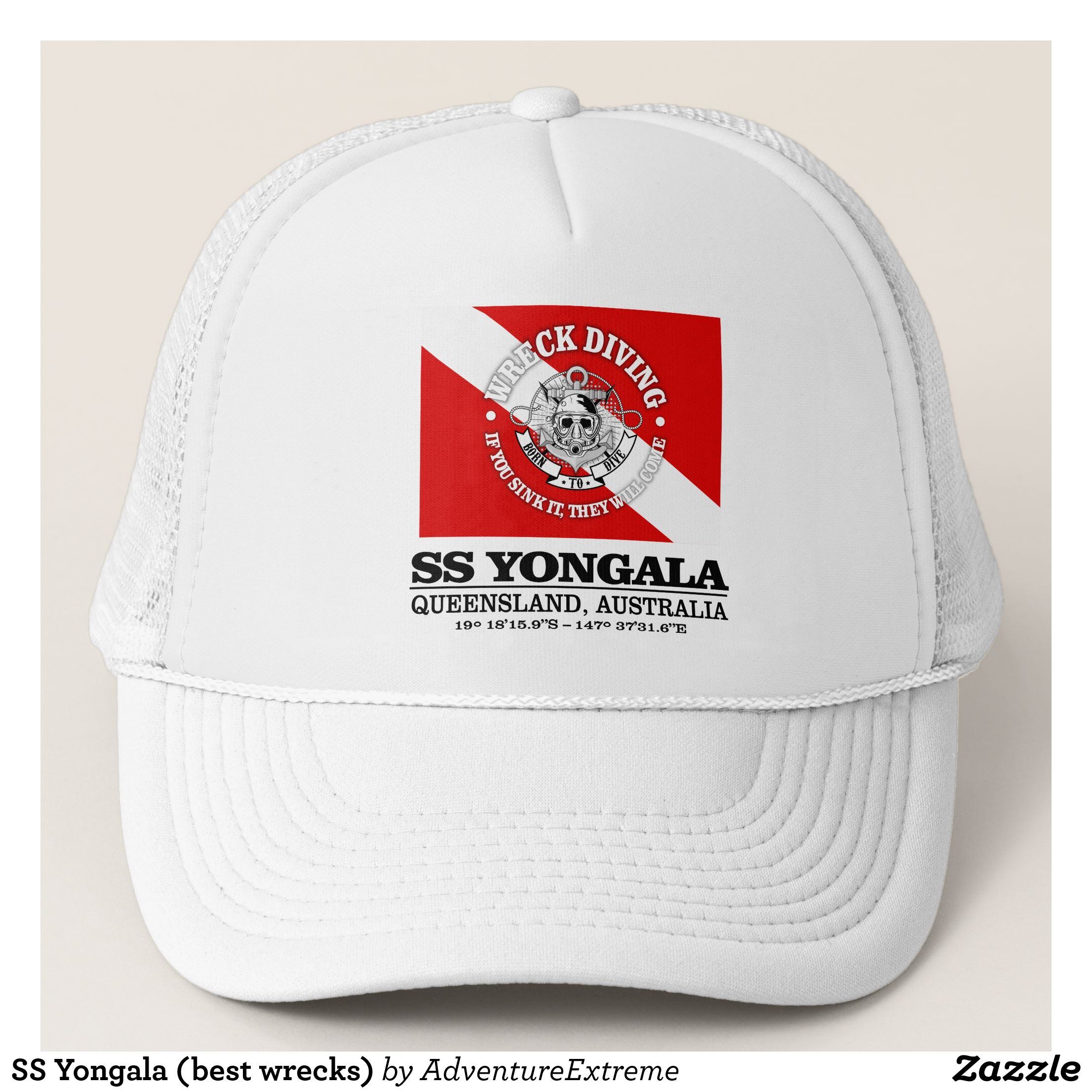 REDNECK Hat Red Logo