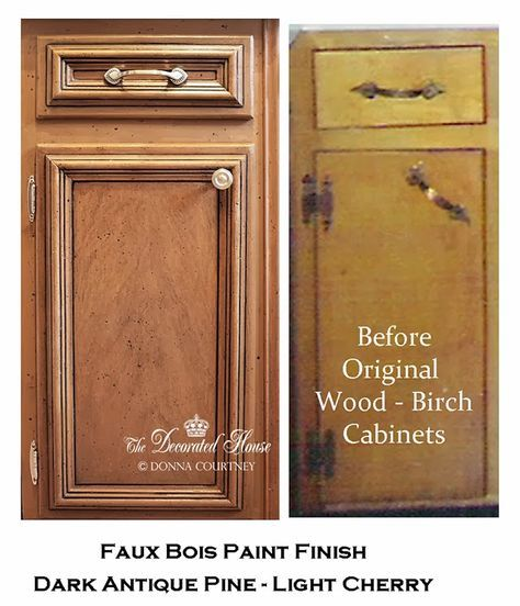 Ivory Glazed Kitchen Cabinets: ~ How -To: Black Glaze On Kitchen Cabinets Or Wood