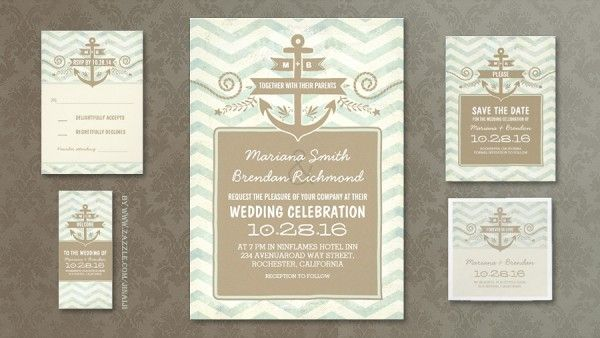 Nautical Wedding Invitations To Inspire You On How To Create Your