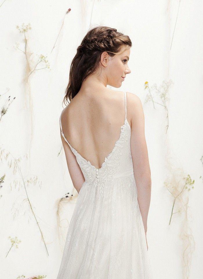 Brautkleider mit Spitze am Rücken   Rücken, Brautkleider mit spitze ...