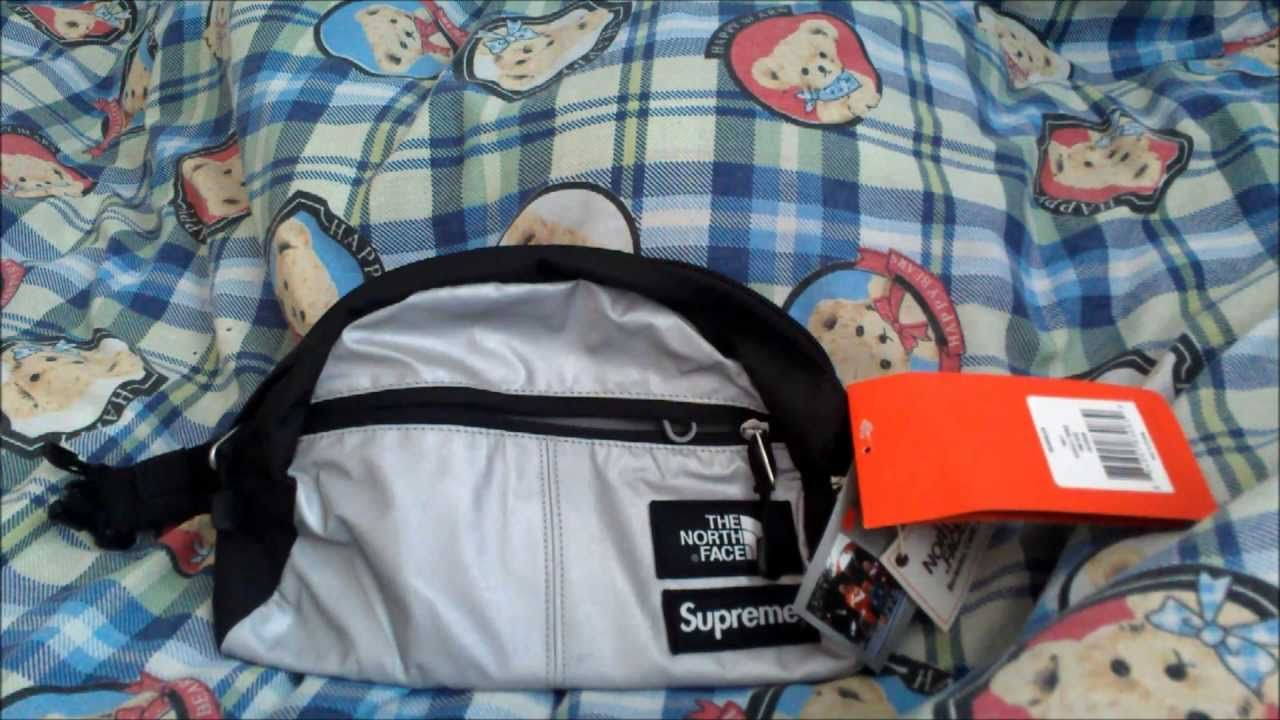 87d5d6acc Supreme x The North Face Reflective 3M Roo II Waistbag Spring ...