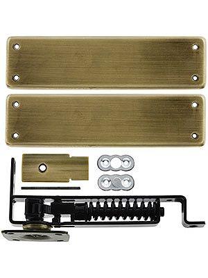 Pivot Door Hinge Heavy Duty Swinging Floor With Solid Brass Cover Plates