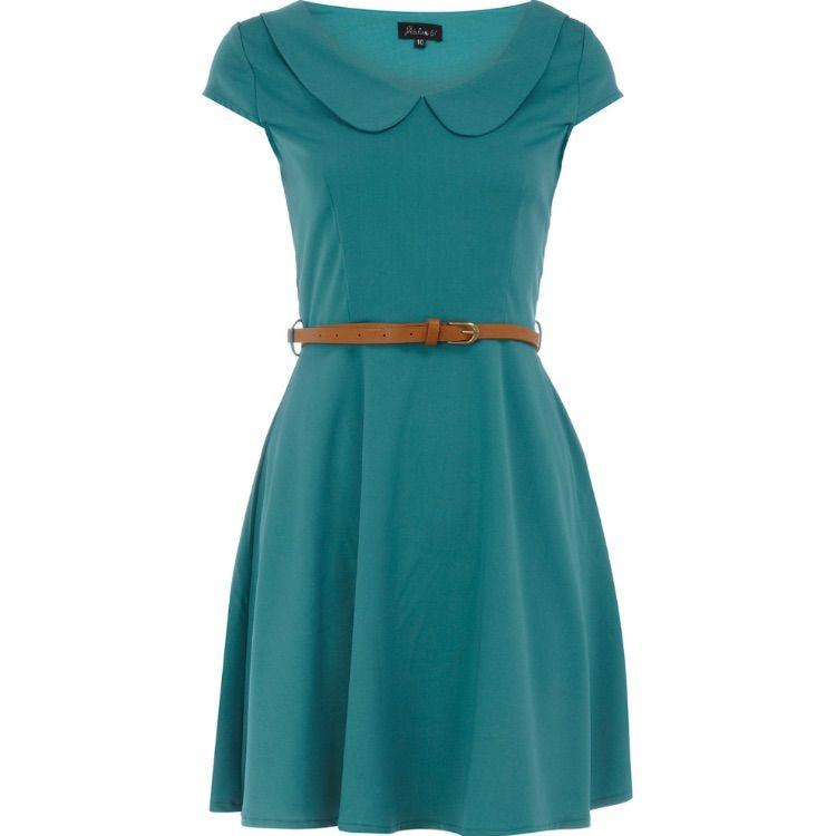 Dorothy Perkins Peter Pan Collar Dress