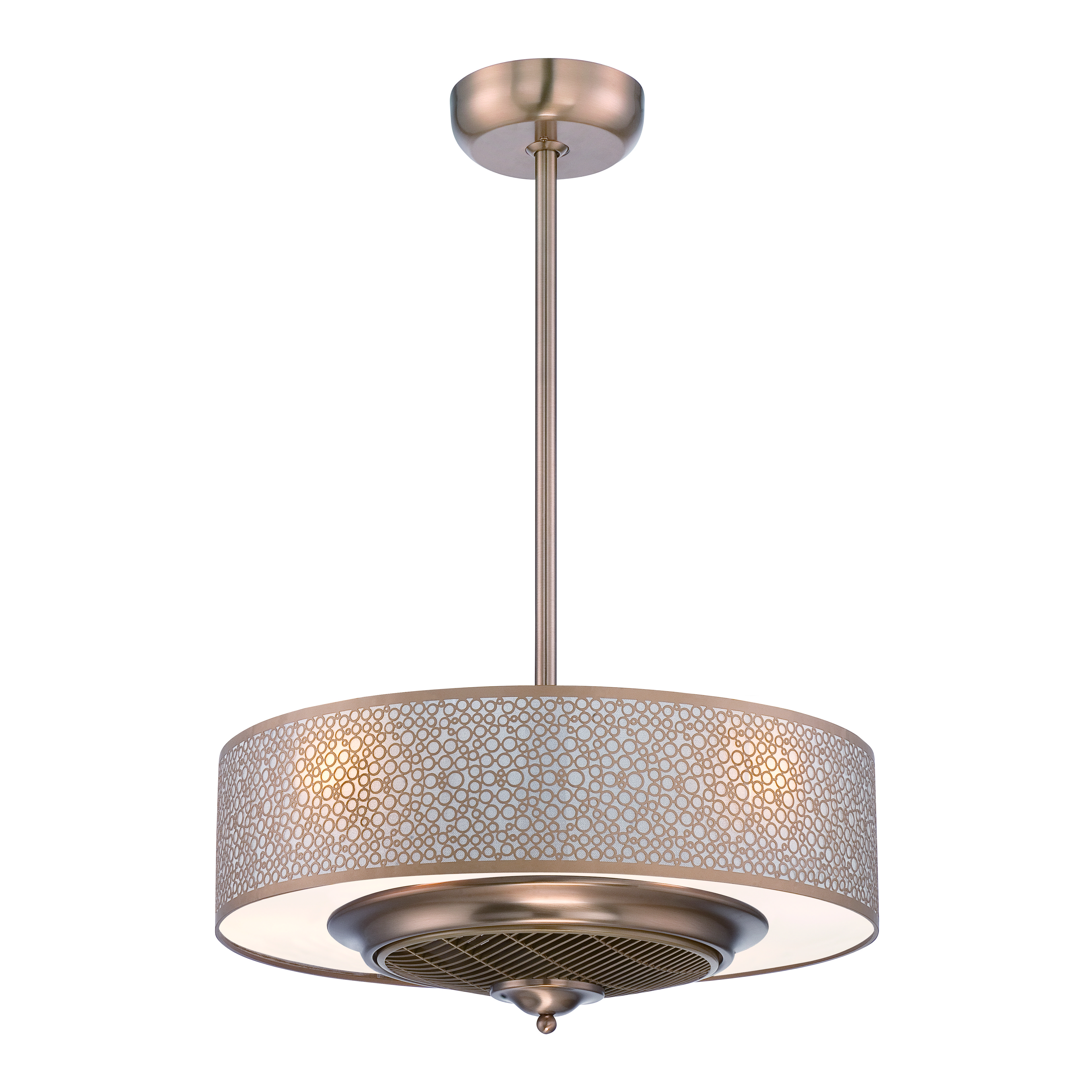 Four Light Ceiling Fan Master bedroom lighting, Ceiling