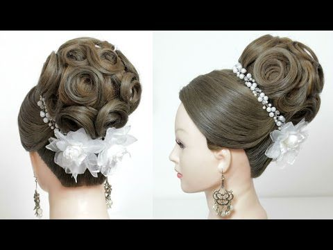 Vechernyaya Pricheska Roza Cvetok Iz Volos Hair Made Rose Youtube Long Hair Updo Long Hair Styles Long Hair Tutorial
