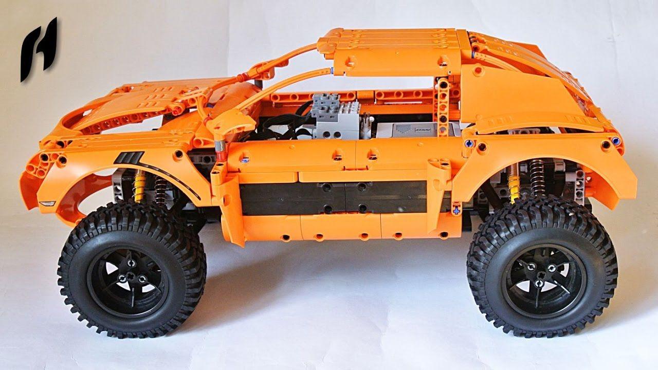 terrain rallye car moc lego technic lego lego. Black Bedroom Furniture Sets. Home Design Ideas